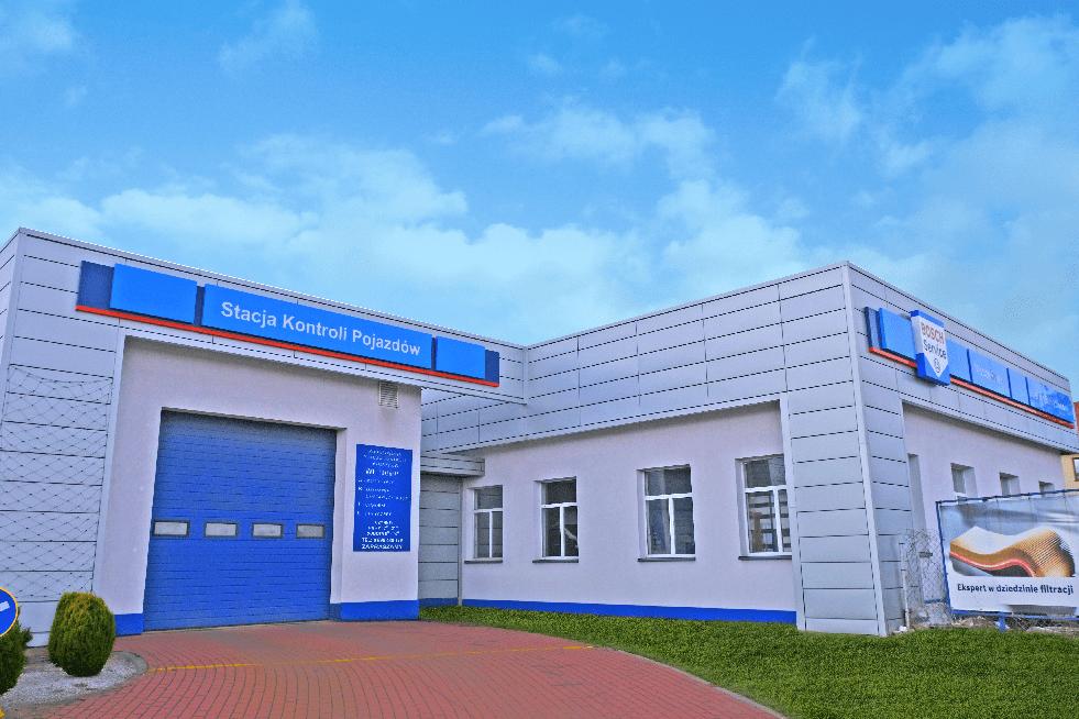 stacja kontroli pojazdów chotomów