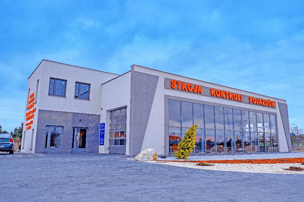stacja kontroli pojazdów skierdy